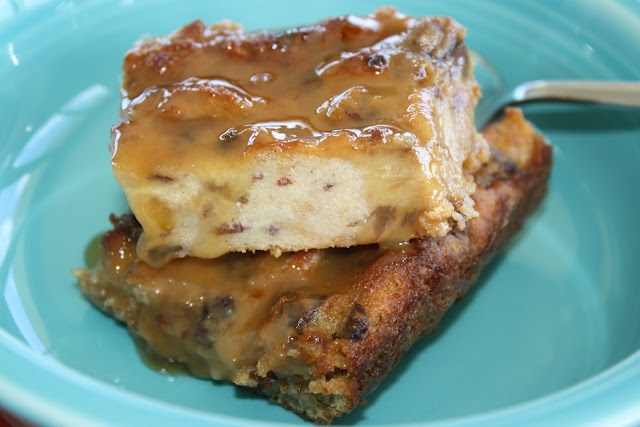 ... Raisin Bread Pudding. Trying this with a loaf of panara cinnamon bread