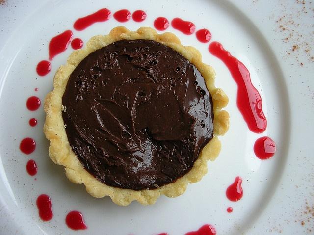 chocolate lavender tart by shauna | glutenfreegirl, via Flickr # ...
