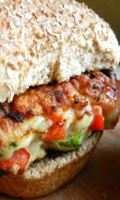 Tropical chicken burgers | Recipe