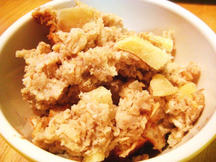 Baked Apple Pie Oatmeal - Jillian's Kitchen | Apple Picking Recipes ...