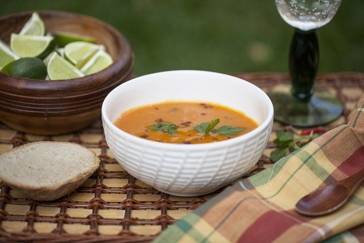 Sweet Potato–Star Anise Soup With Ginger Cream Recipe — Dishmaps