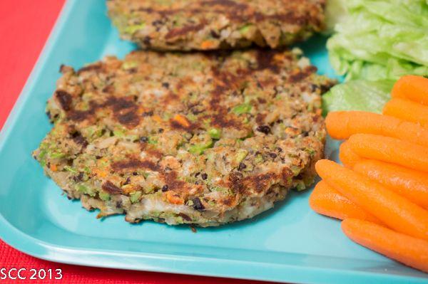 ... Choice Wednesday: Gluten-Free Black Bean & Edamame Veggie Burgers