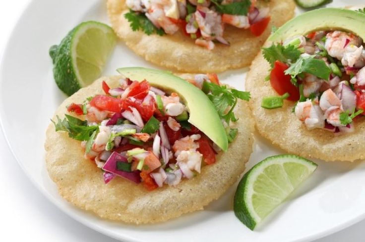 Ceviche Tostadas Recipe from Authentic Mexican Kitchen
