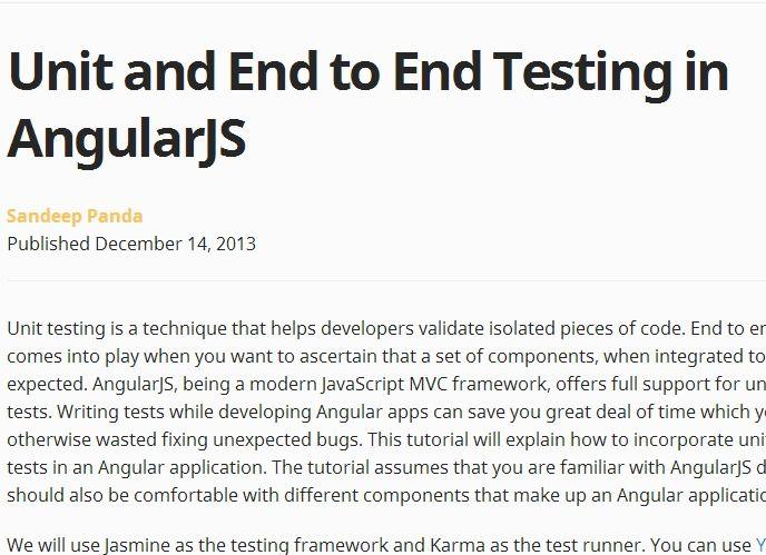 Angularjs release date