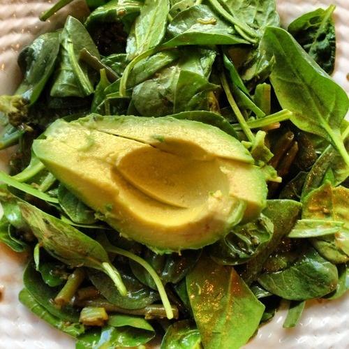 Avocado Spinach Salad | Healthy Recipes | Pinterest