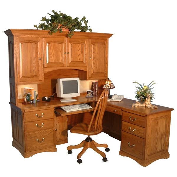 Computer Desk With Hutch Cabin Project Products Pinterest