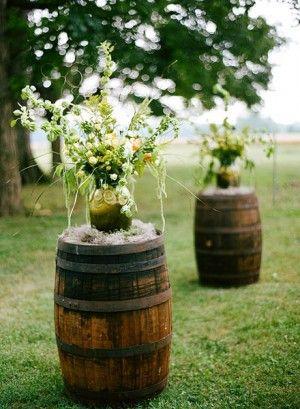 Wine barrels... genius!