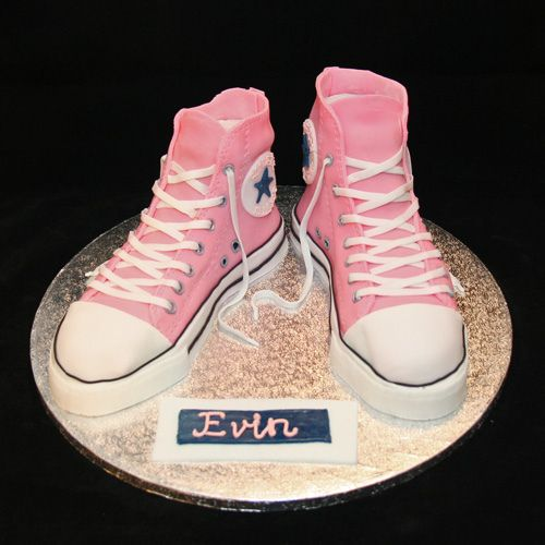converse birthday cakes