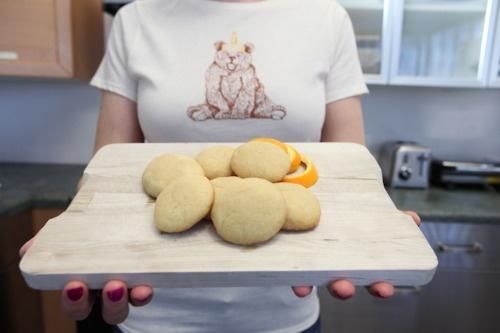 Cooking Orange Honey Cookies | Food Fantasy | Pinterest