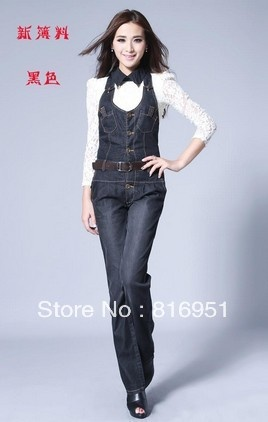 Model Jumpsuit Pants Overalls Women Work Casual Wearin Jumpsuits From Women