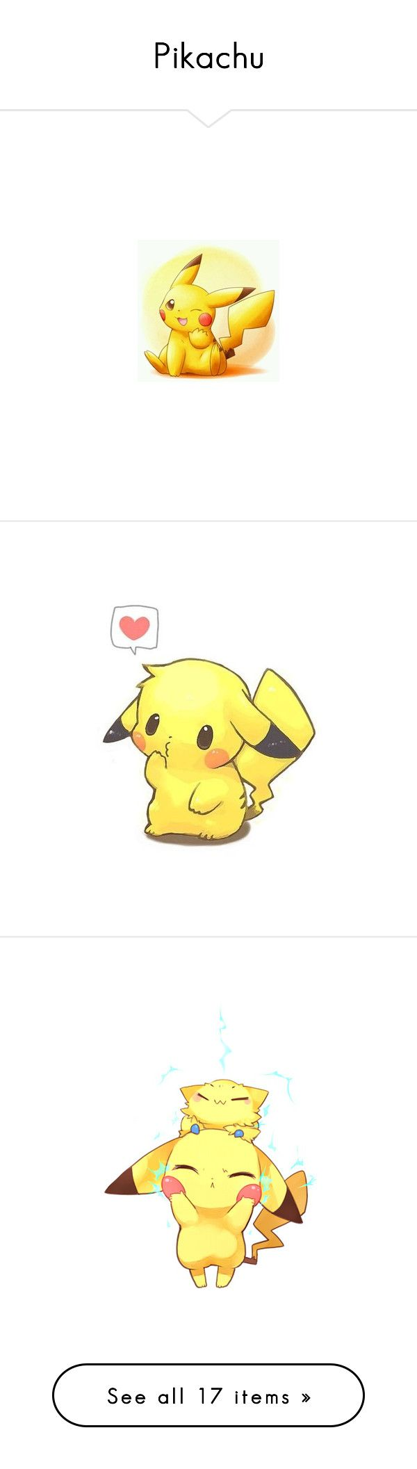 Pikachu love quotes