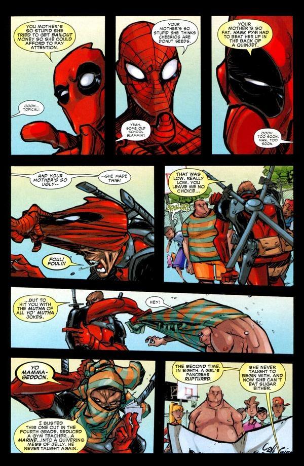 deadpool and spiderman comic - photo #11