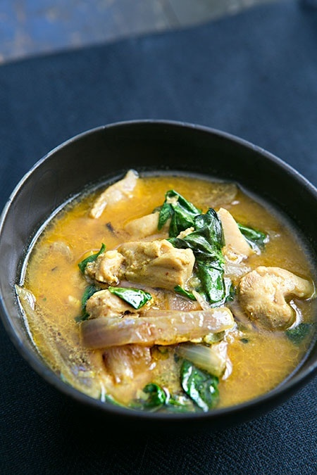 Basil Chicken in Coconut Curry Sauce Recipe | Simply RecipesWe ...