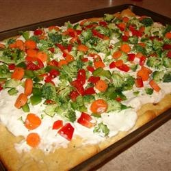 "Vegetable Pizza Appetizer."" I think people will be more inclined to ..."