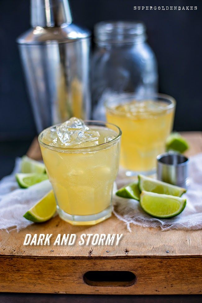 Cocktail Friday: Dark and Stormy