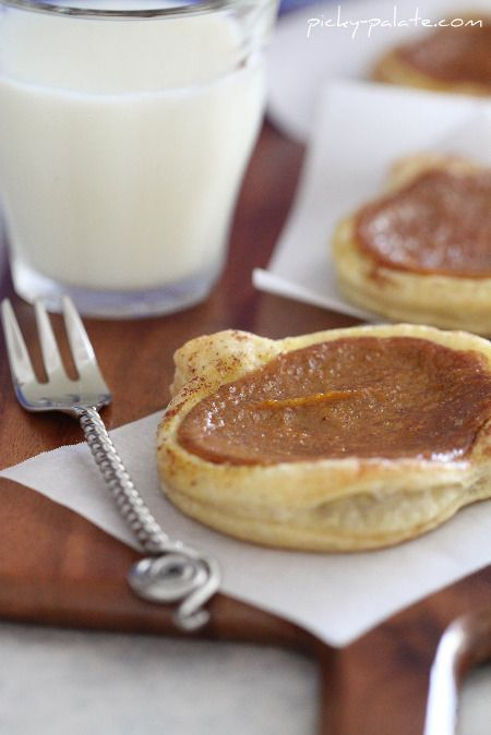 cinnamon toasted pumpkin pie tarts - yummy and perhaps a higher crust ...