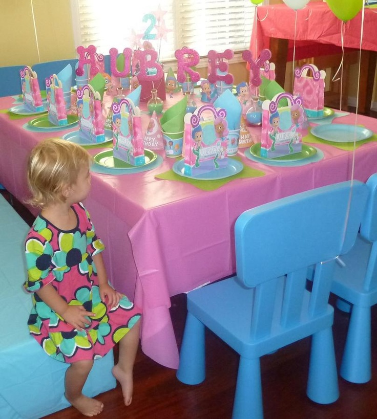 Bubble guppies party gabbys birthday pinterest - Bubble guppie birthday ideas ...