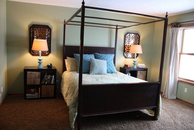 moss green bedroom home inspiration pinterest