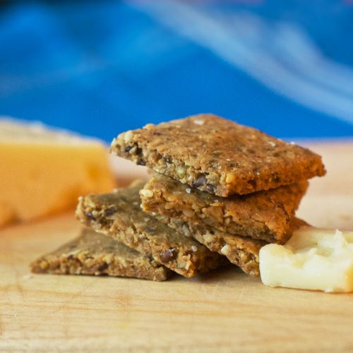 crispy nutty crackers stack | Gluten/Dairy/Soy/Mostly Grain FREE ...