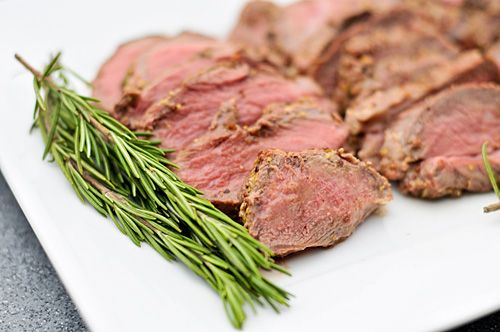 ... Butterflied Leg of Lamb with Rosemary, Garlic, and Mustard Crust