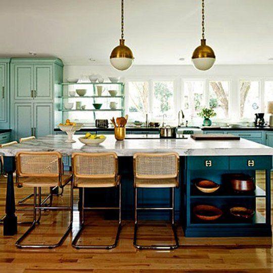 blue green kitchens 2017 grasscloth wallpaper