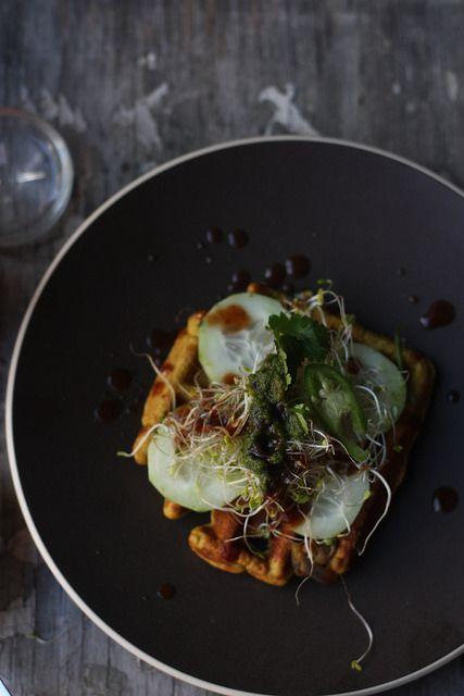 Vollkorn-Waffeln | Food Fashion Party | Pinterest