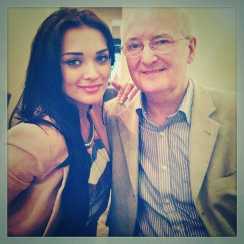 Amy Jackson With her father | Kollywood | Pinterest