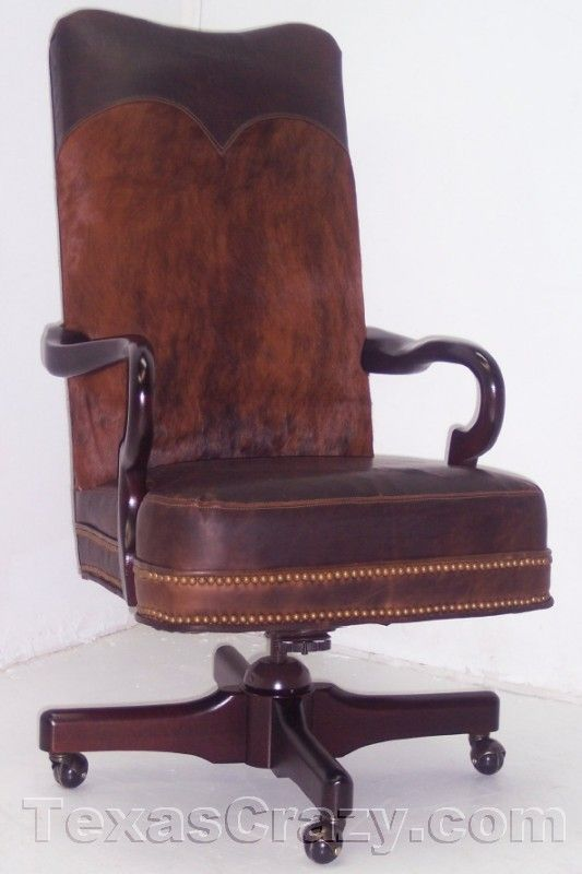 San Marcos Leather Executive Office Chair