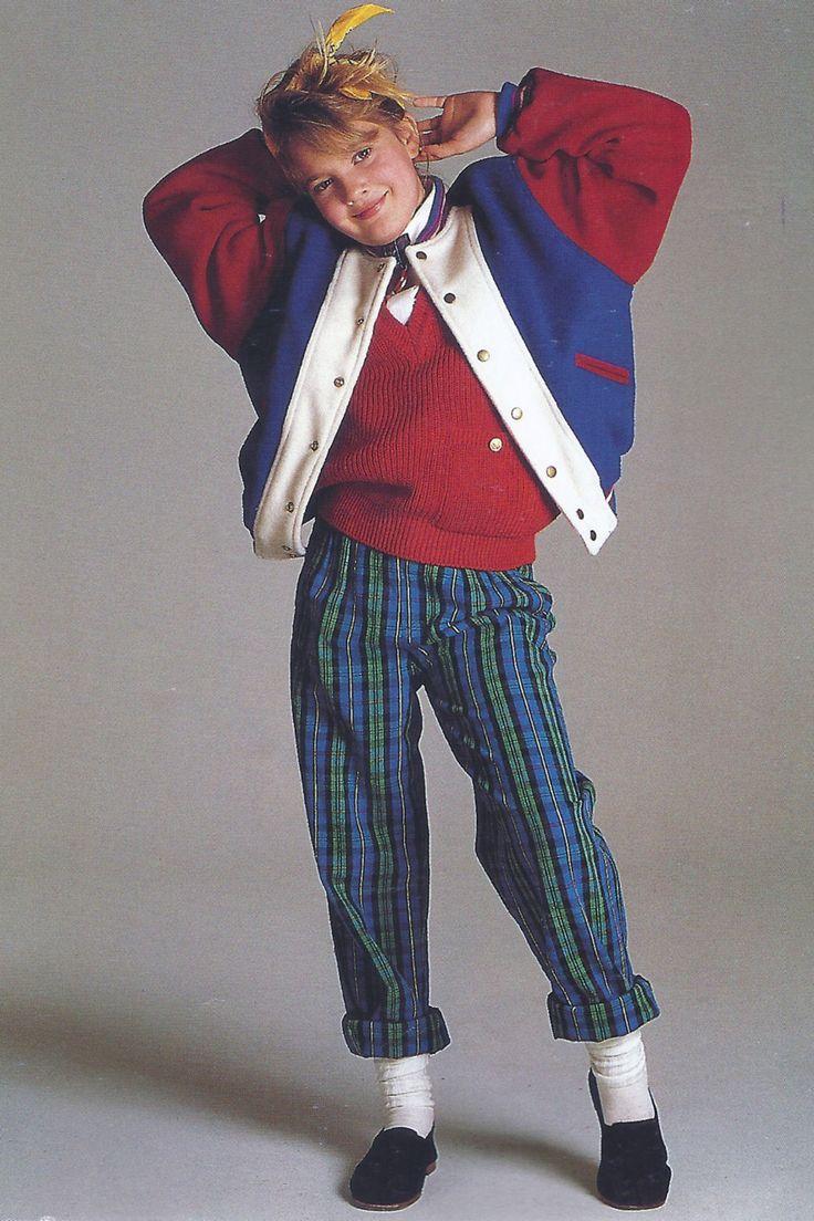 Drew Barrymore, 1985.
