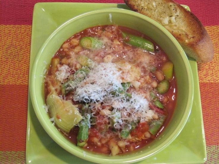Spring Vegetable Stew | Soup's on! | Pinterest