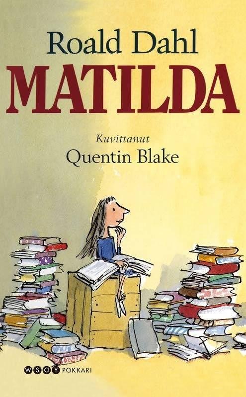 Roald Dahl Matilda Death by Book Pinterest