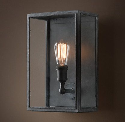Wall Sconce Lighting Images : Wall Restoration Hardware T- Lighting Pinterest