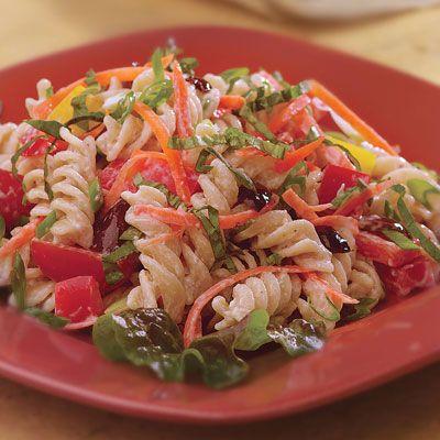 Garden Pasta Salad - Vegetable Pasta Salad Recipes - Delish.com And ...
