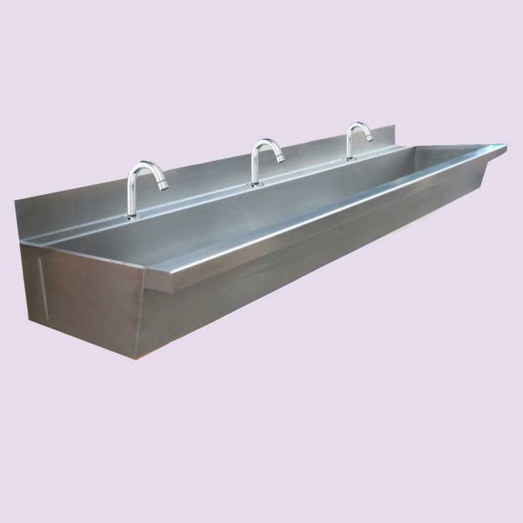 Trough Sink Stainless Steel : stainless steel