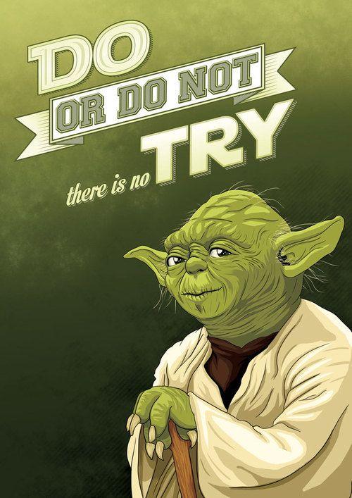 Yoda Quotes Poster Quotesgram