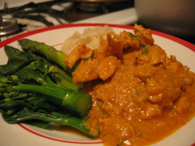 Vegetarian Panang Curry   Recipes   Pinterest