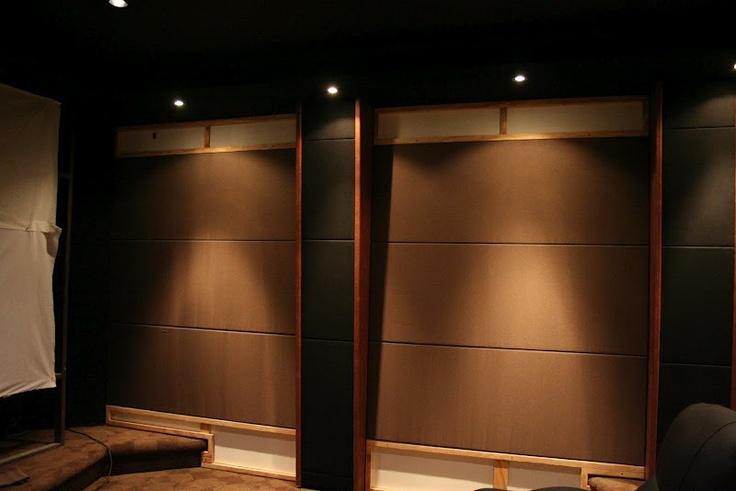 Home theatre wall panel basement ideas pinterest