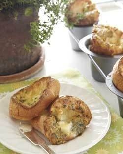 Herbed popovers | side dish | Pinterest