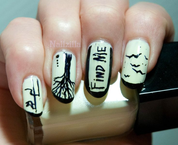 sharpie pen nail art  Google Search  NAILS  sharpies  Pinterest