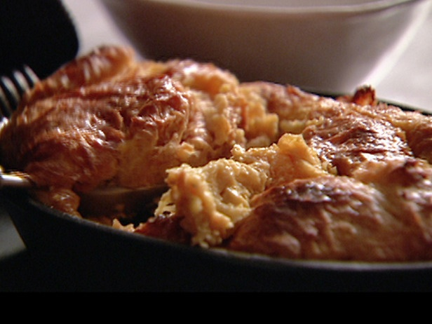 "Caramel croissant bread pudding by Nigella Lawson. Any time I say ""I&#39..."