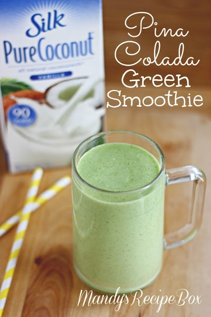 Mandy's Recipe Box: Pina Colada Green Smoothie #dairyfree and a good ...