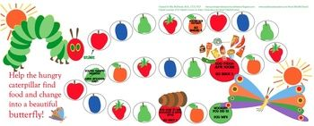 The Very Hungry Caterpillar Speech and Language Companion Pack  {and phonemic awareness fun!}