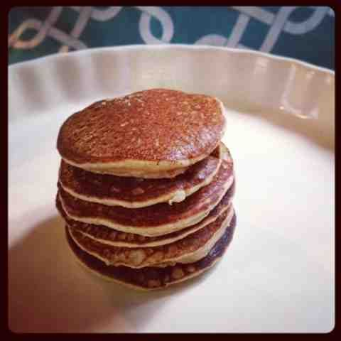 ... on a Dime: Super Simple Silver Dollar Pancakes (Paleo / Gluten-free
