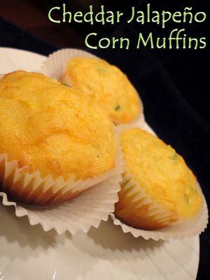 Cheddar Jalapeño Corn Muffins | Bread/focaccia/pizza | Pinterest