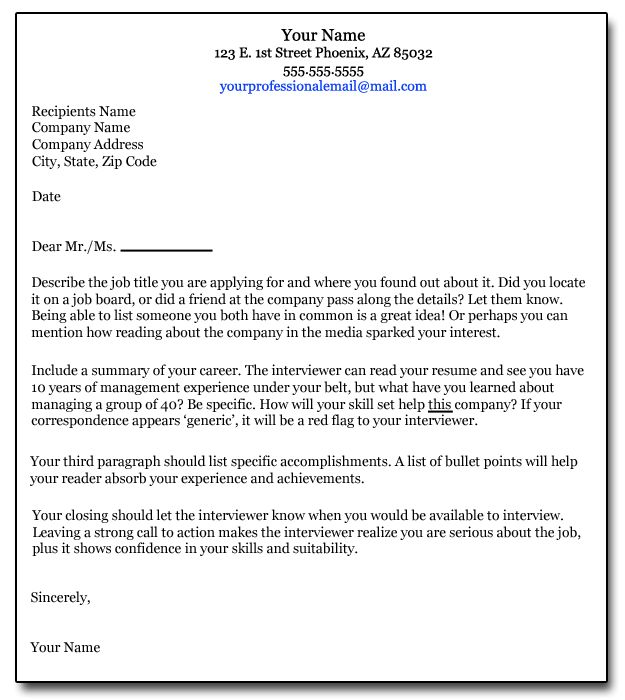 How to write a cover letter job search pinterest for How to write a cover letter without a job posting