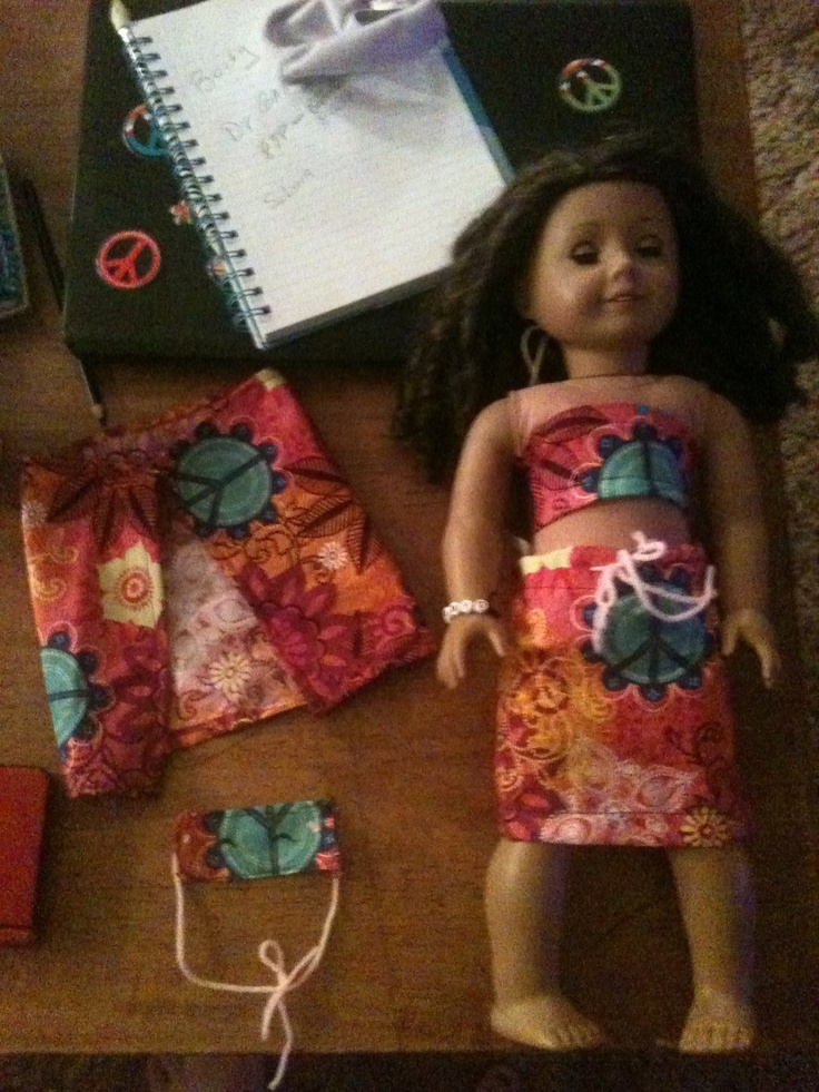 Diy american girl doll stuff easy