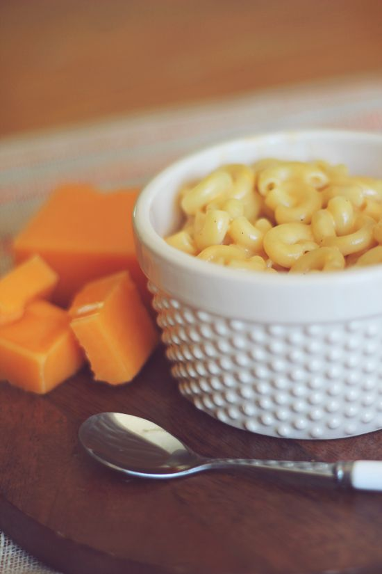 Skinny Easy Mac! I pretty much always crave macaroni and cheese but ...