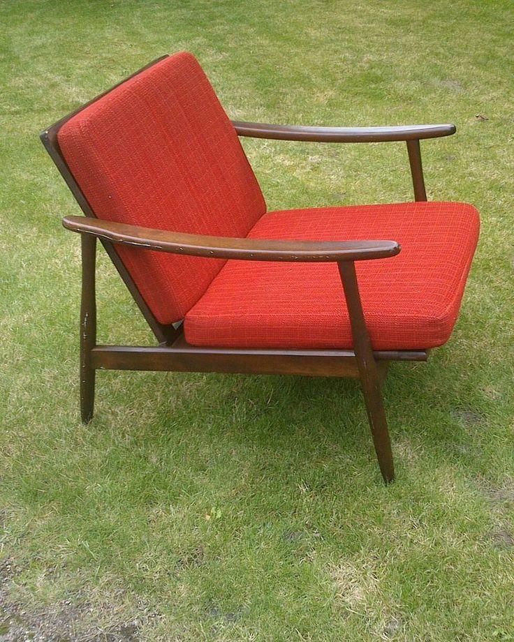 fauteuil 1950 60 armchair design vintage steiner guariche arp. Black Bedroom Furniture Sets. Home Design Ideas