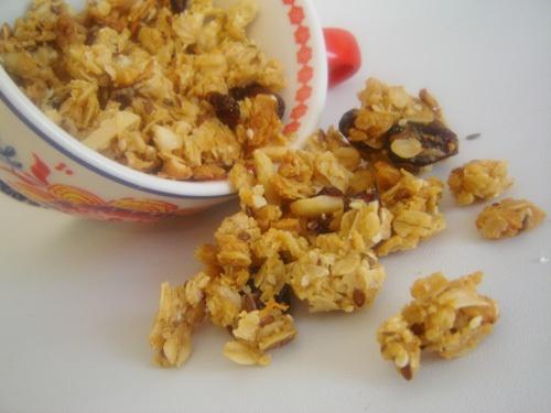 Crunchy granola recipe | A Wee Tea Party | Pinterest
