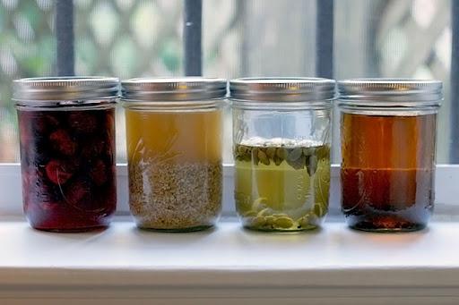 Hot Honey Lemon With Vodka (for The Brave) W/ Poll Recipe — Dishmaps
